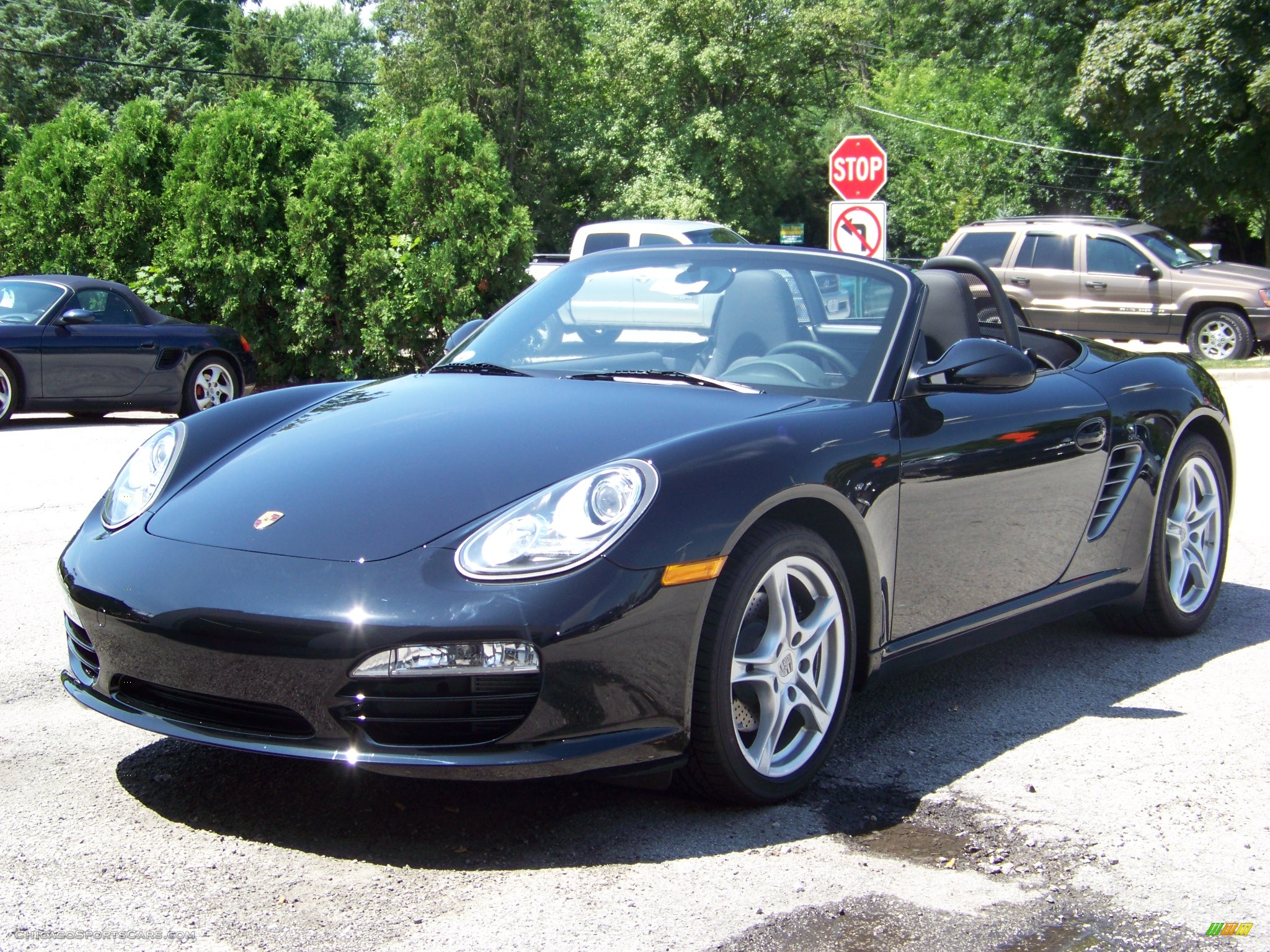 2009 porsche boxster in black 710871 cars for sale in illinois. Black Bedroom Furniture Sets. Home Design Ideas