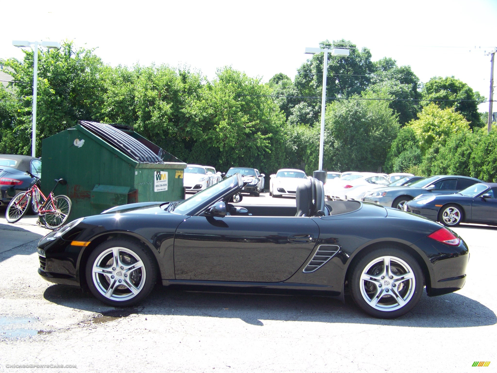 2009 porsche boxster in black photo 5 710871 cars for sale in illinois. Black Bedroom Furniture Sets. Home Design Ideas