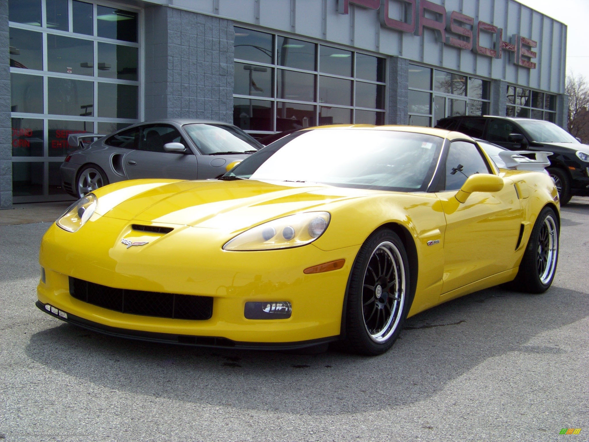 2006 Chevrolet Corvette Z06 In Velocity Yellow 121166