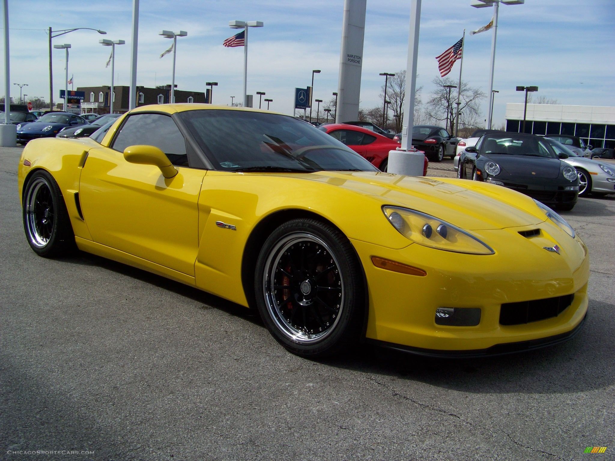 2006 chevrolet corvette z06 in velocity yellow photo 3 121166 cars. Black Bedroom Furniture Sets. Home Design Ideas