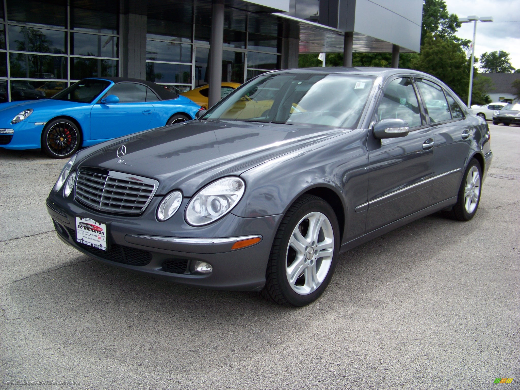 2005 Mercedes Benz E 500 4matic Sedan In Granite Grey