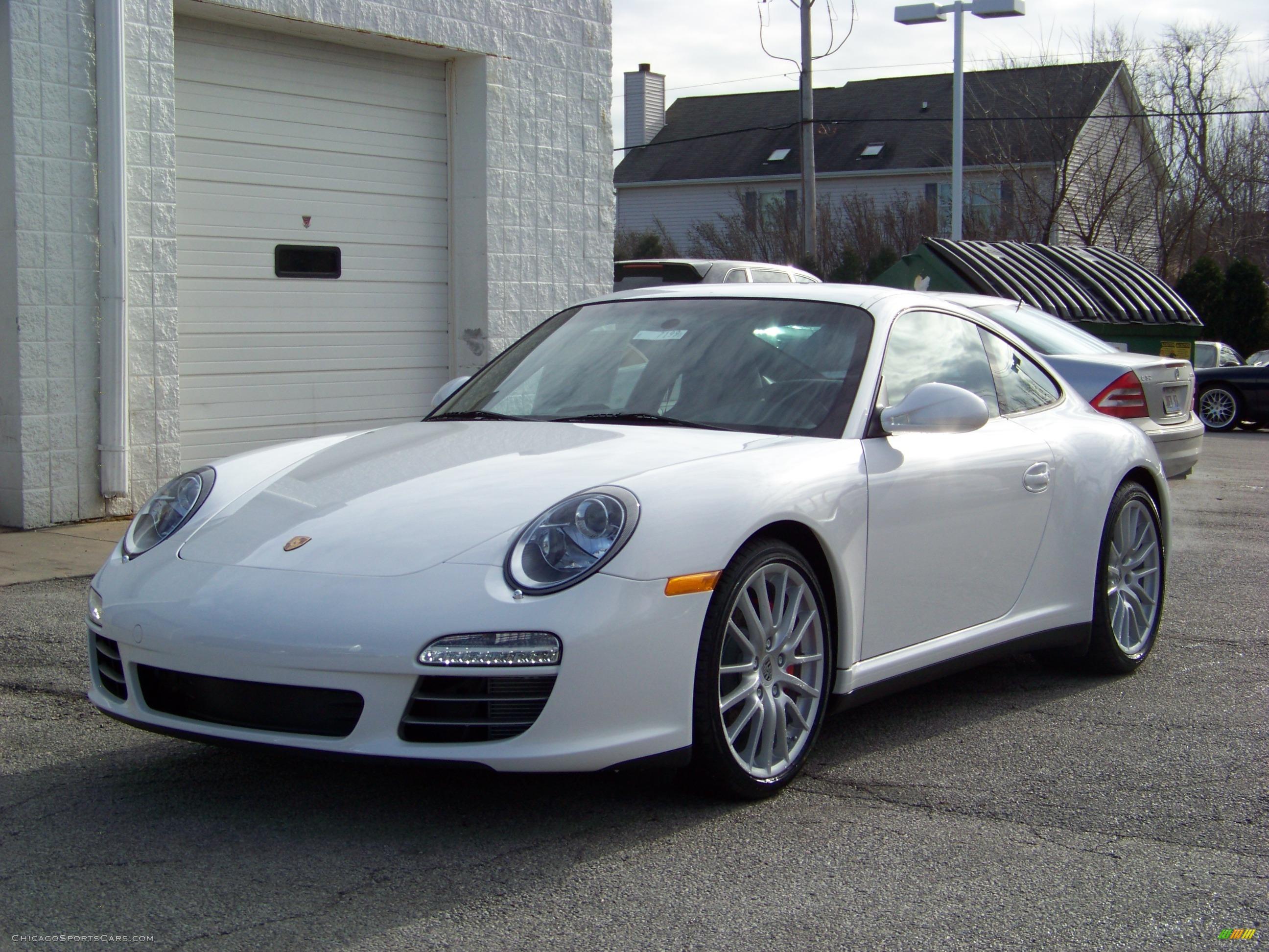 Worksheet. 2009 Porsche 911 Carrera 4S Coupe in Carrara White  721776