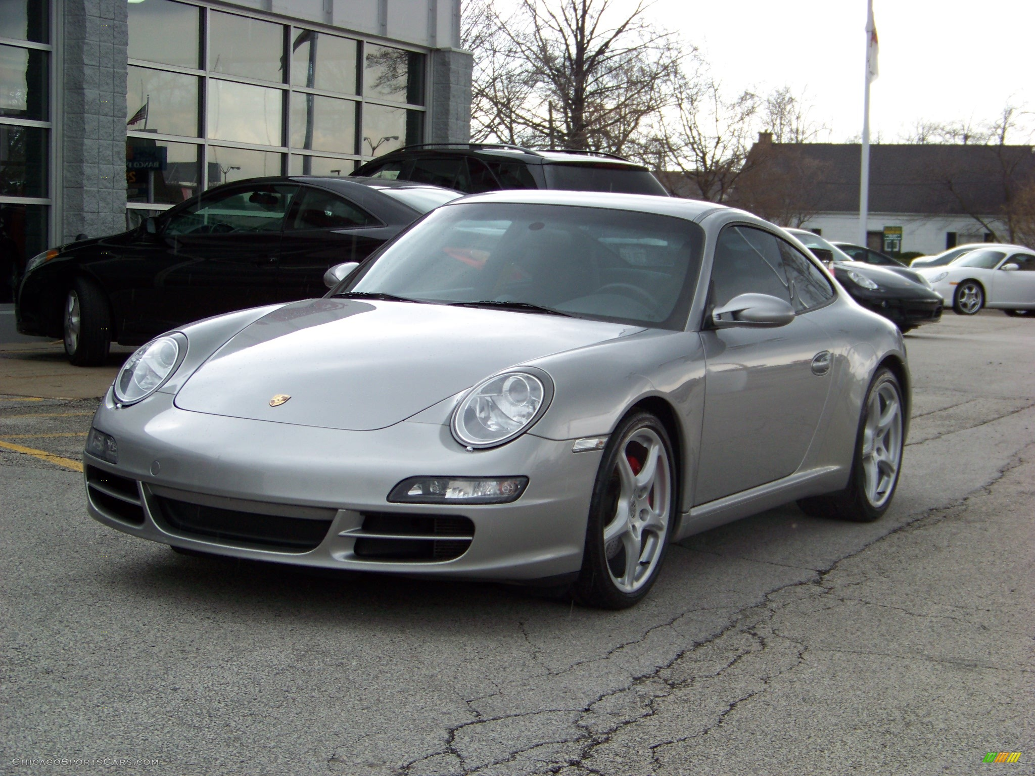 2005 porsche 911 carrera s coupe in gt silver metallic 741652 cars. Black Bedroom Furniture Sets. Home Design Ideas