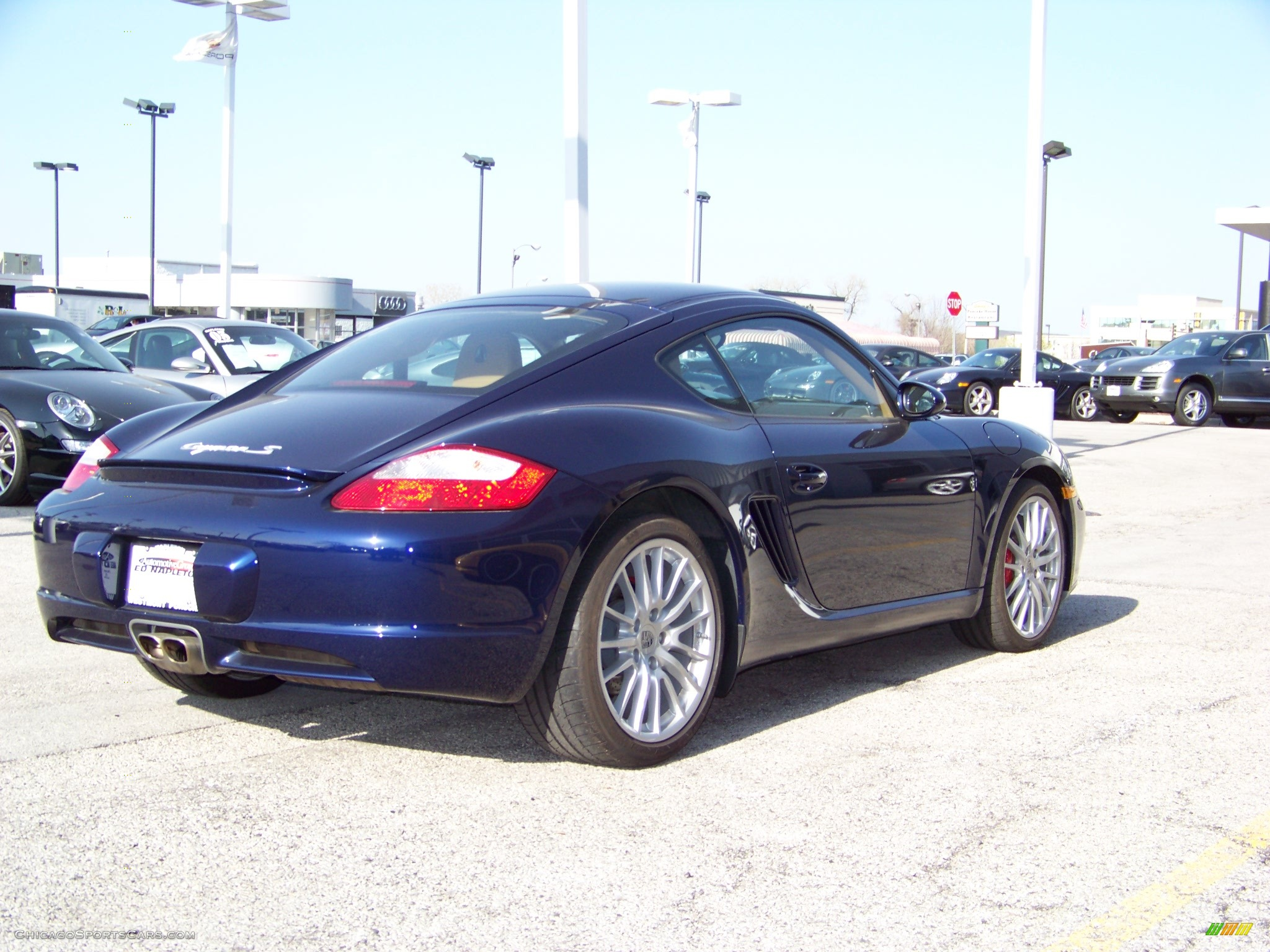 2006 Porsche Cayman S In Lapis Blue Metallic Photo 3