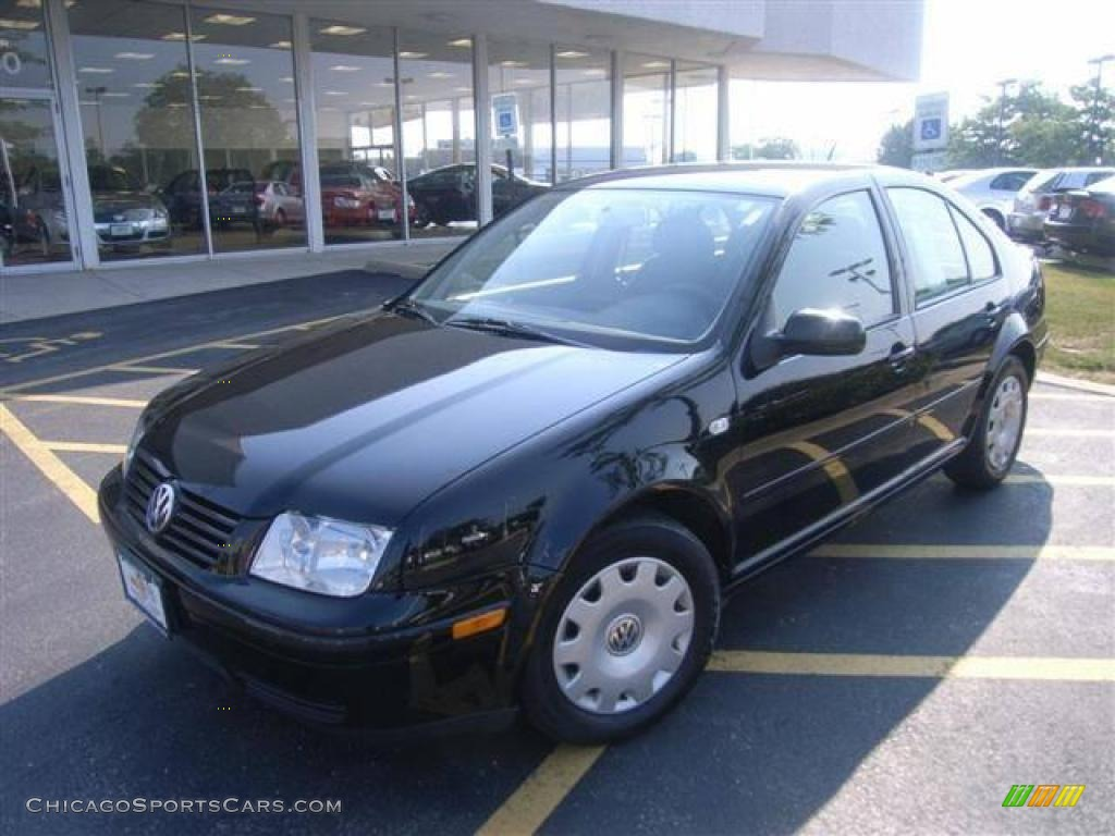 1999 volkswagen jetta gls sedan in uni black 007097. Black Bedroom Furniture Sets. Home Design Ideas