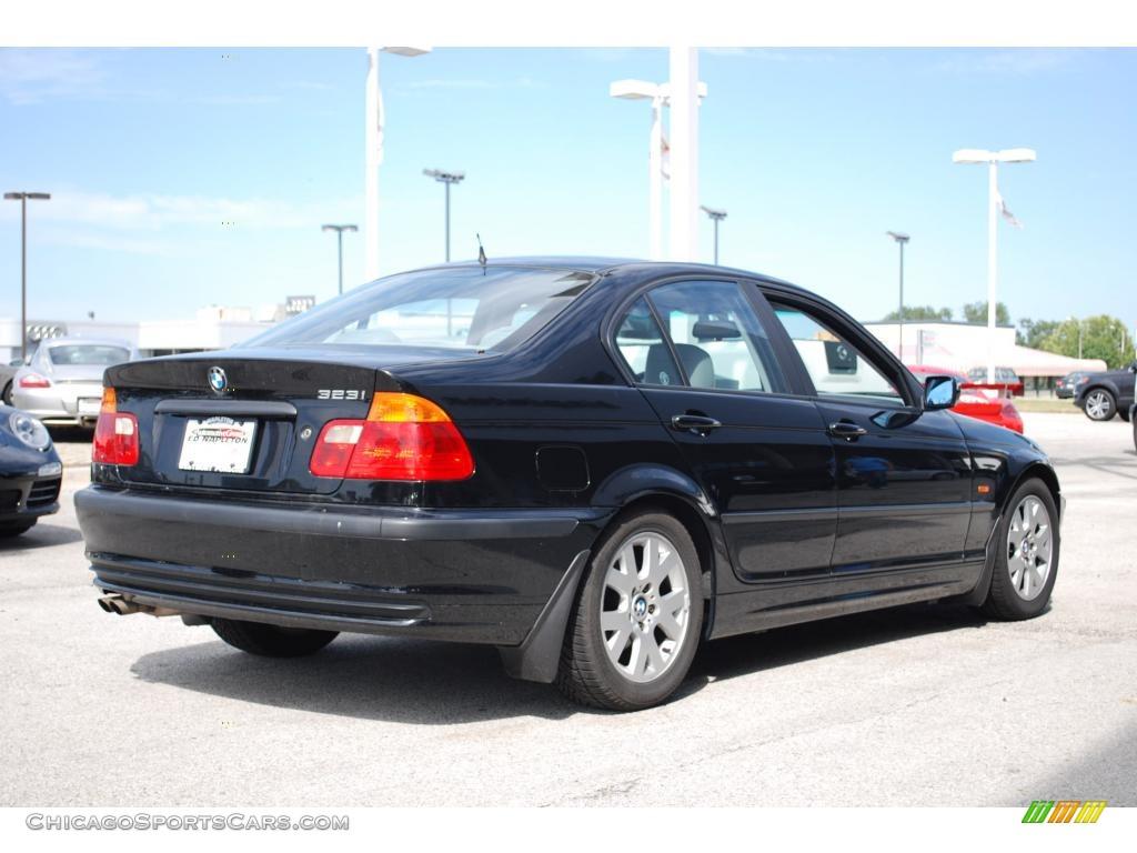 2000 Bmw 3 Series 323i Sedan In Jet Black Photo 7