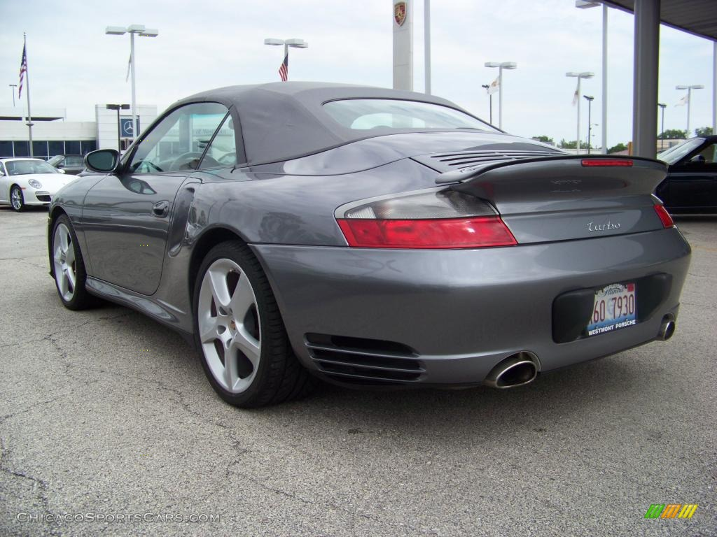 2004 Porsche 911 Turbo Cabriolet in Seal Grey Metallic ...