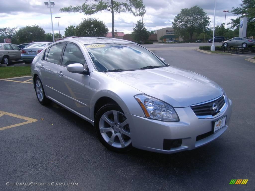 2007 nissan maxima 3 5 se in radiant silver metallic photo 7 849071. Black Bedroom Furniture Sets. Home Design Ideas