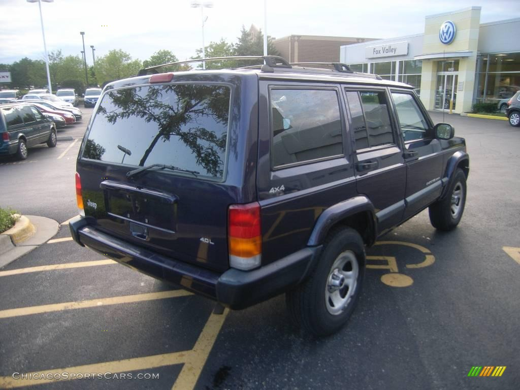 1999 Jeep Cherokee Sport 4x4 in Deep Amethyst Pearl photo #6 - 626747 | ChicagoSportsCars.com ...