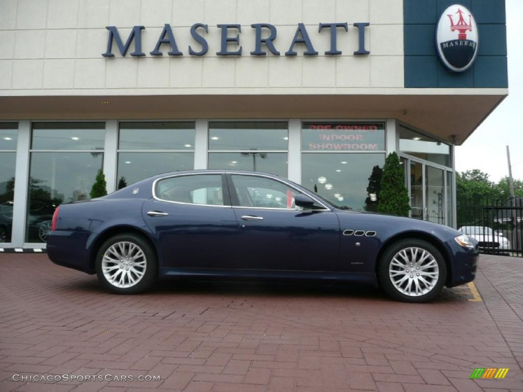 2009 Quattroporte  - Blu Nettuno (Blue) / Sabbia photo #1