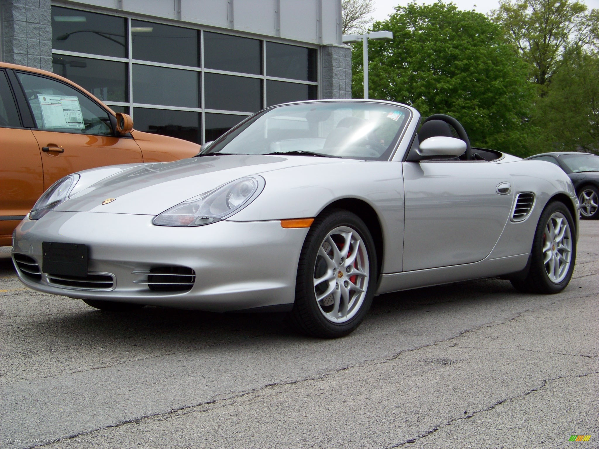 2004 porsche boxster s in silver 660217. Black Bedroom Furniture Sets. Home Design Ideas