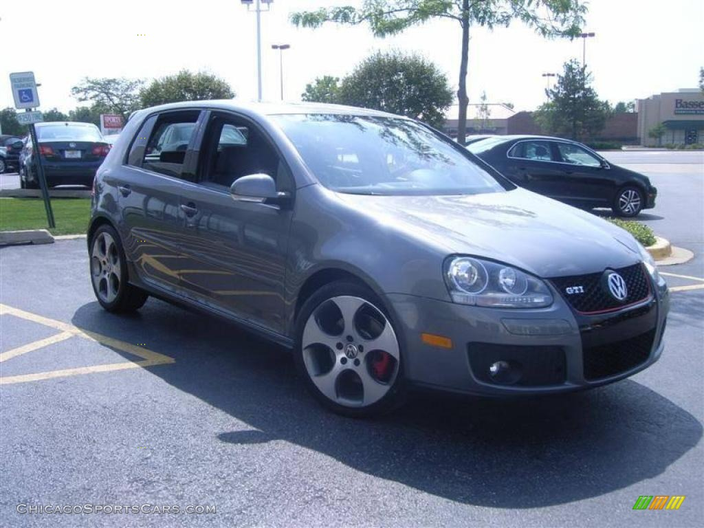2009 Volkswagen GTI 4 Door in United Grey Metallic photo #10 - 136699 | ChicagoSportsCars.com ...