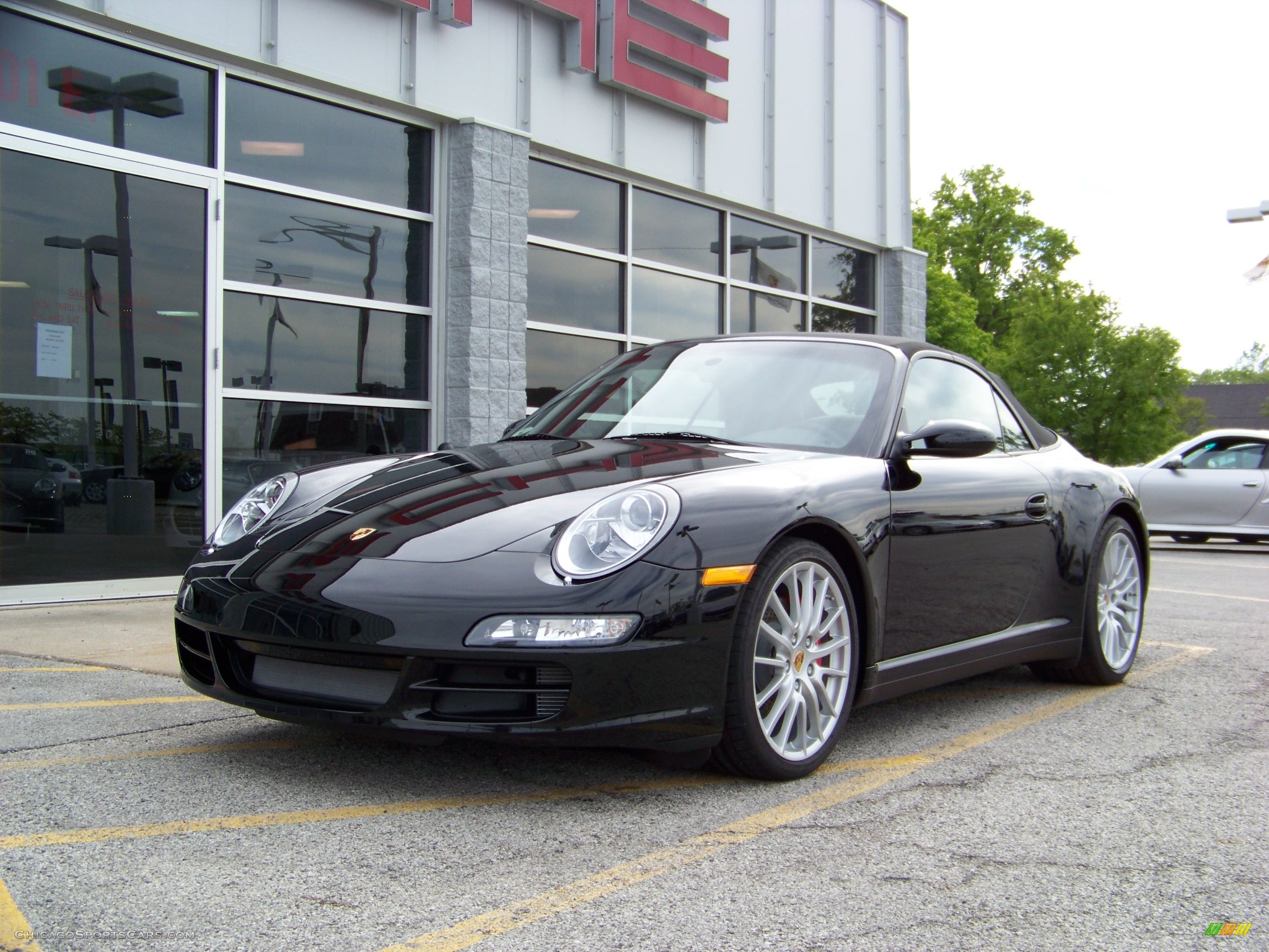2008 porsche 911 carrera 4s cabriolet in black 776969. Black Bedroom Furniture Sets. Home Design Ideas