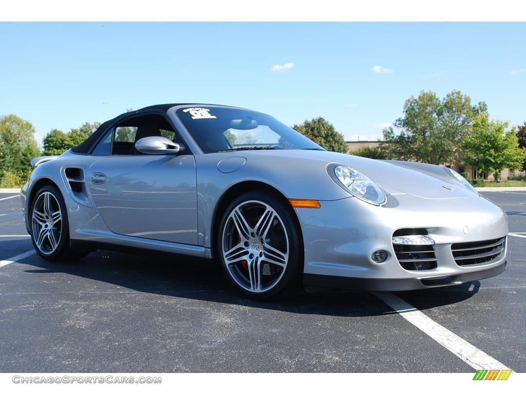 2008 Porsche 911 Turbo Cabriolet In Gt Silver Metallic