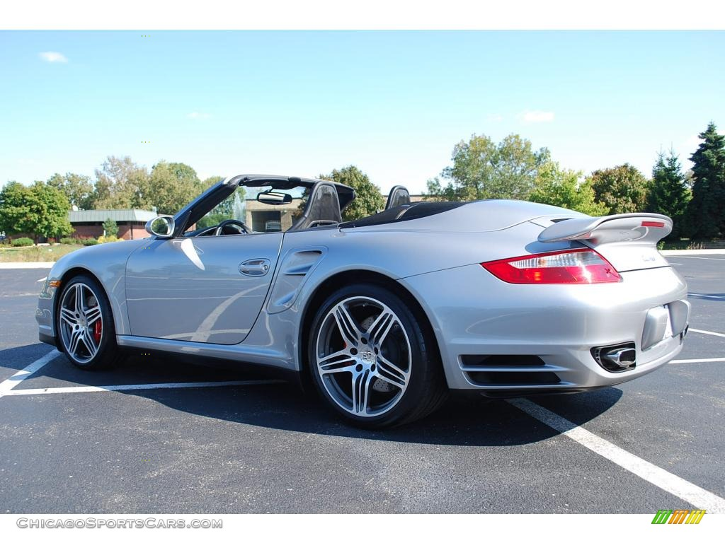 2008 porsche 911 turbo cabriolet in gt silver metallic photo 20 789523 chicagosportscars. Black Bedroom Furniture Sets. Home Design Ideas