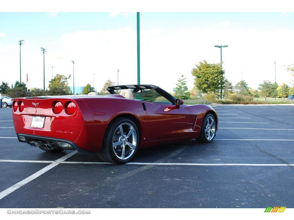 2008 Chevrolet Corvette Convertible In Crystal Red