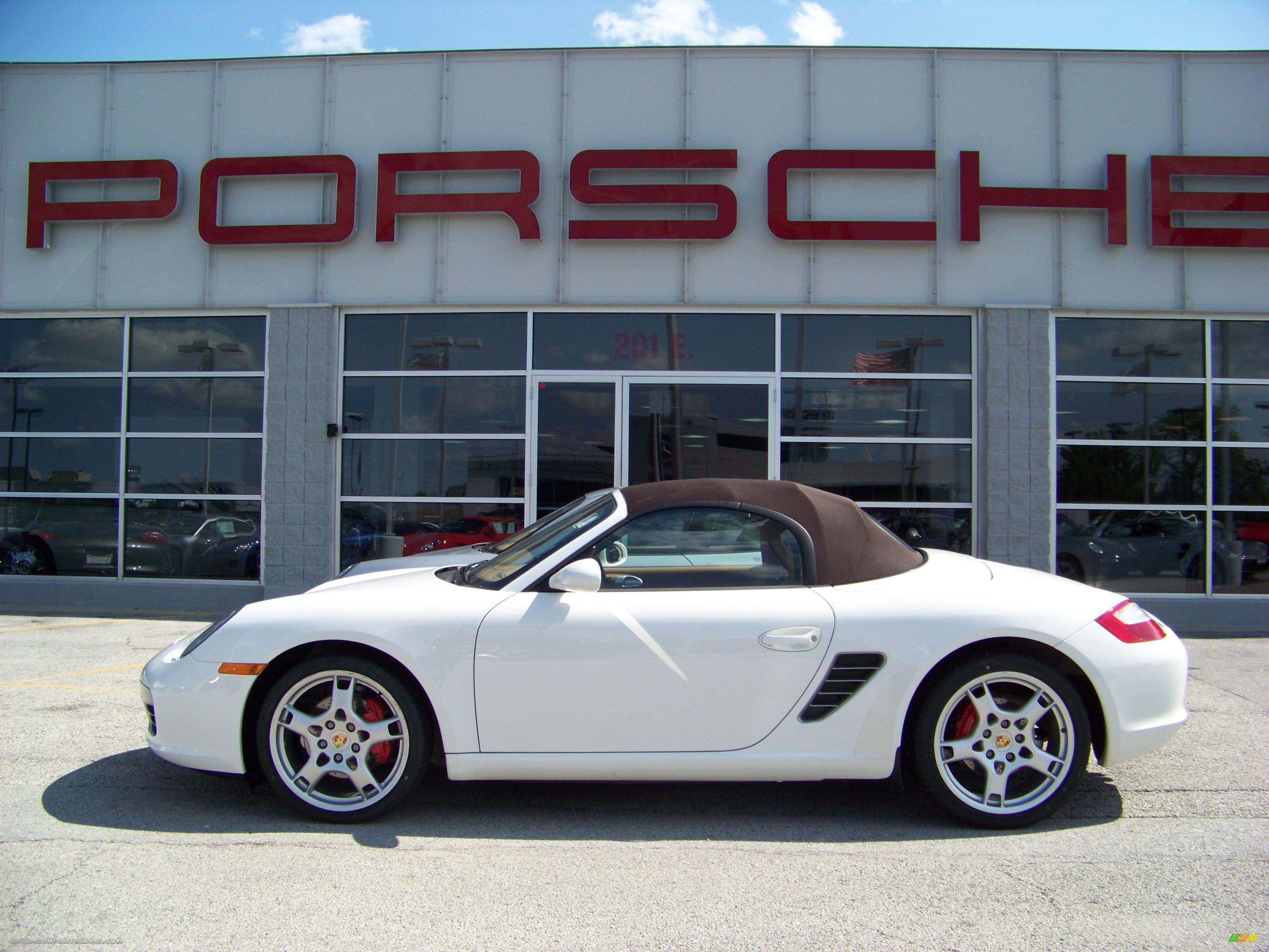 2006 Porsche Boxster S In Carrara White 730859