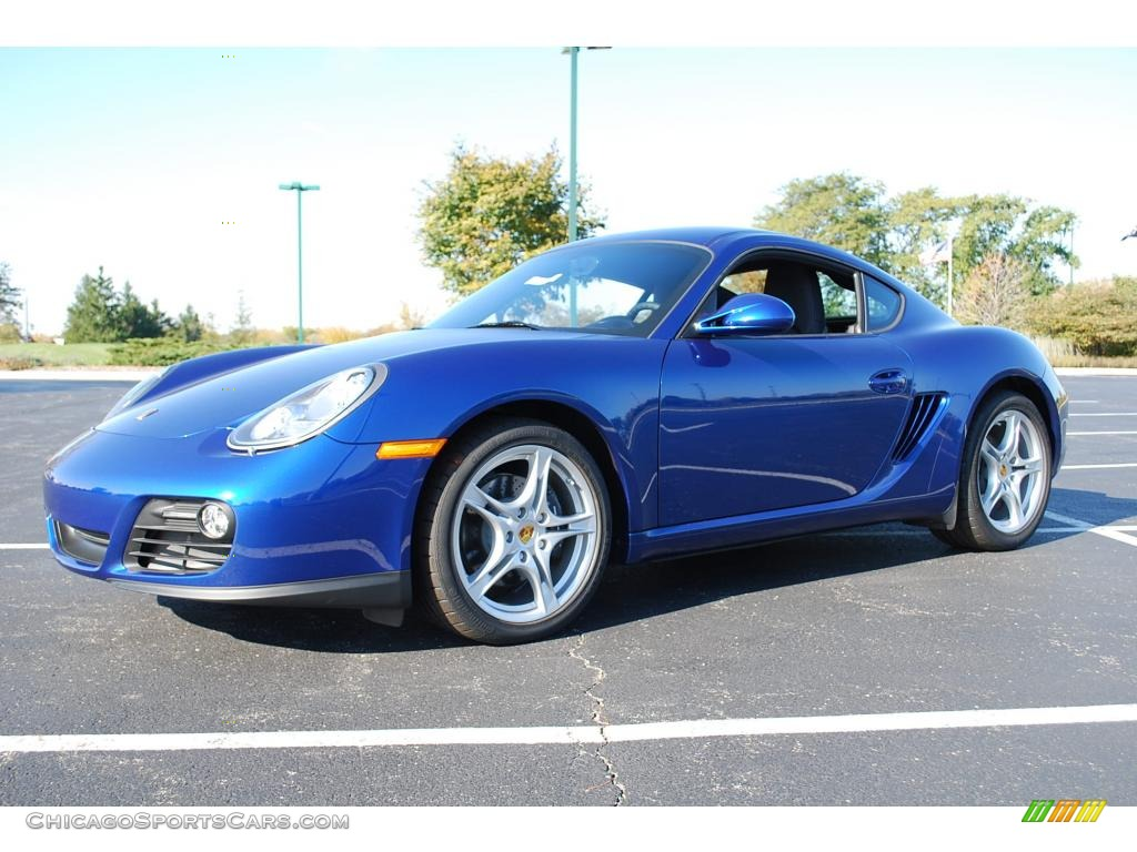 2009 Porsche Cayman In Aqua Blue Metallic 760730