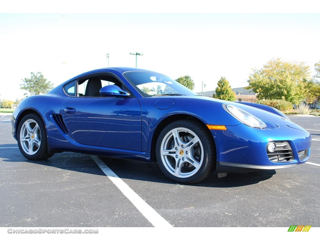 2009 Porsche Cayman In Aqua Blue Metallic Photo 3