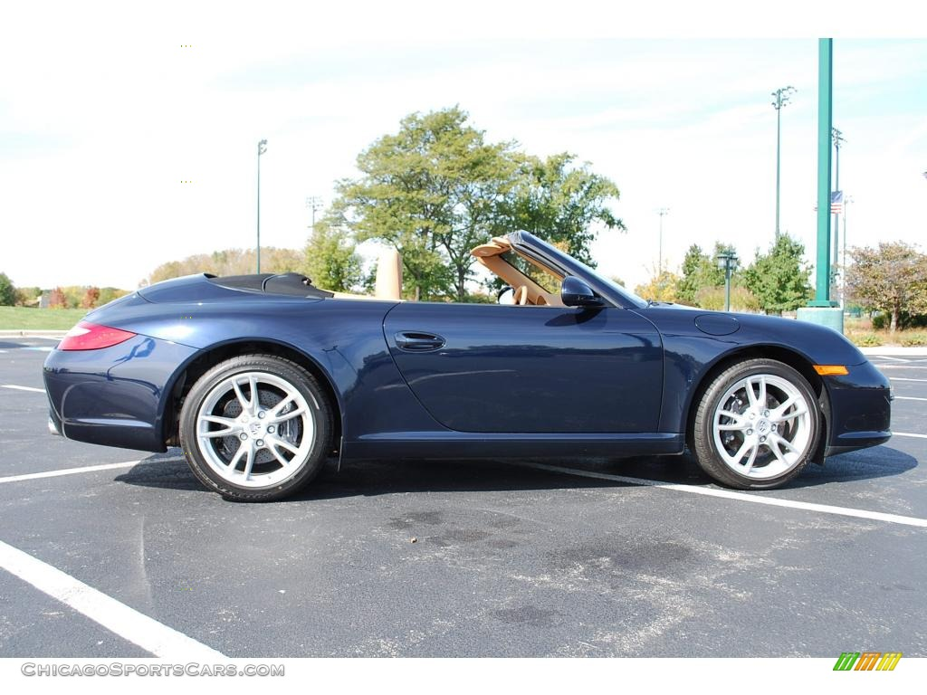 2009 Porsche 911 Carrera Cabriolet In Midnight Blue