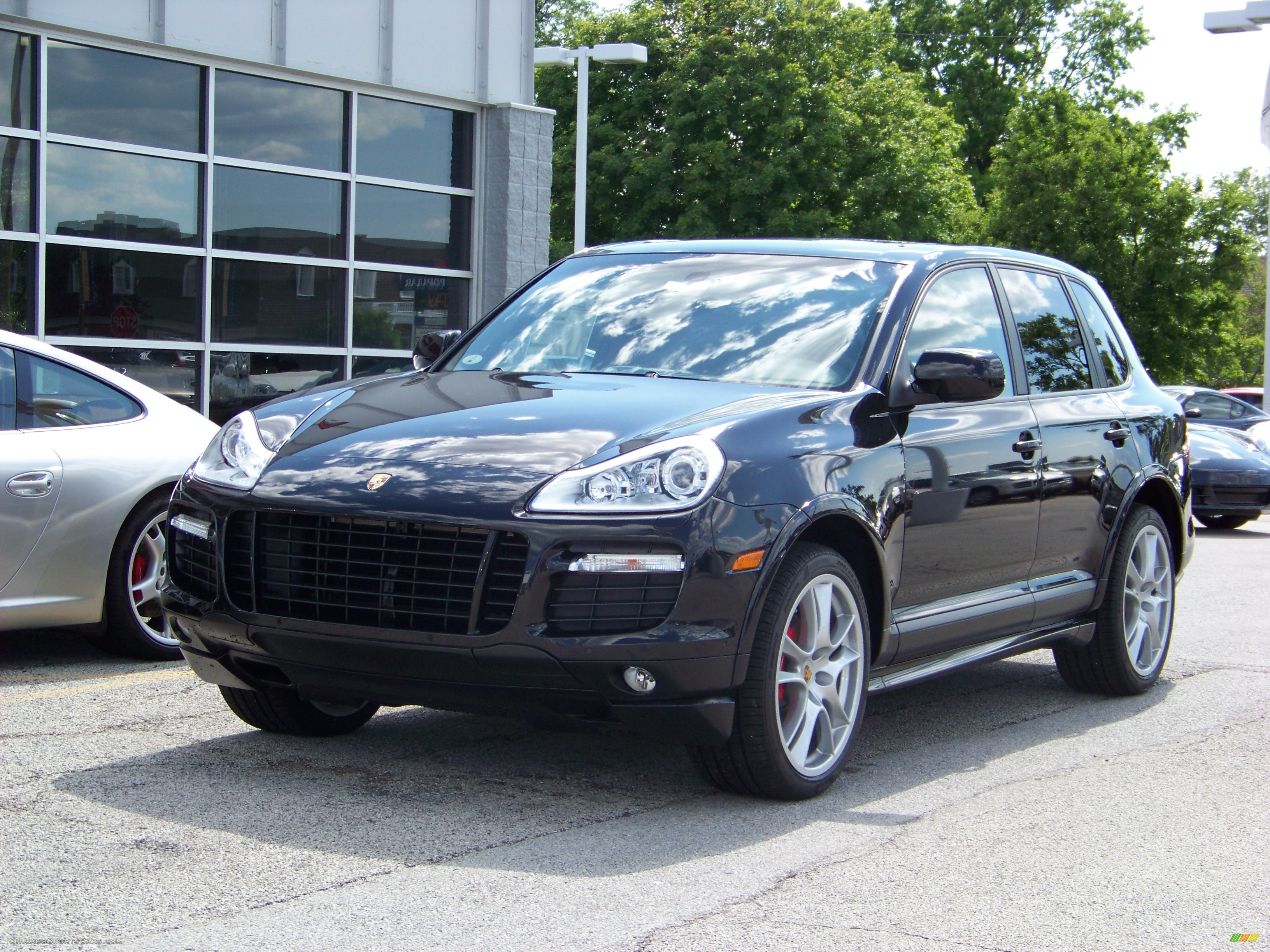 2008 Porsche Cayenne Gts In Black A74453
