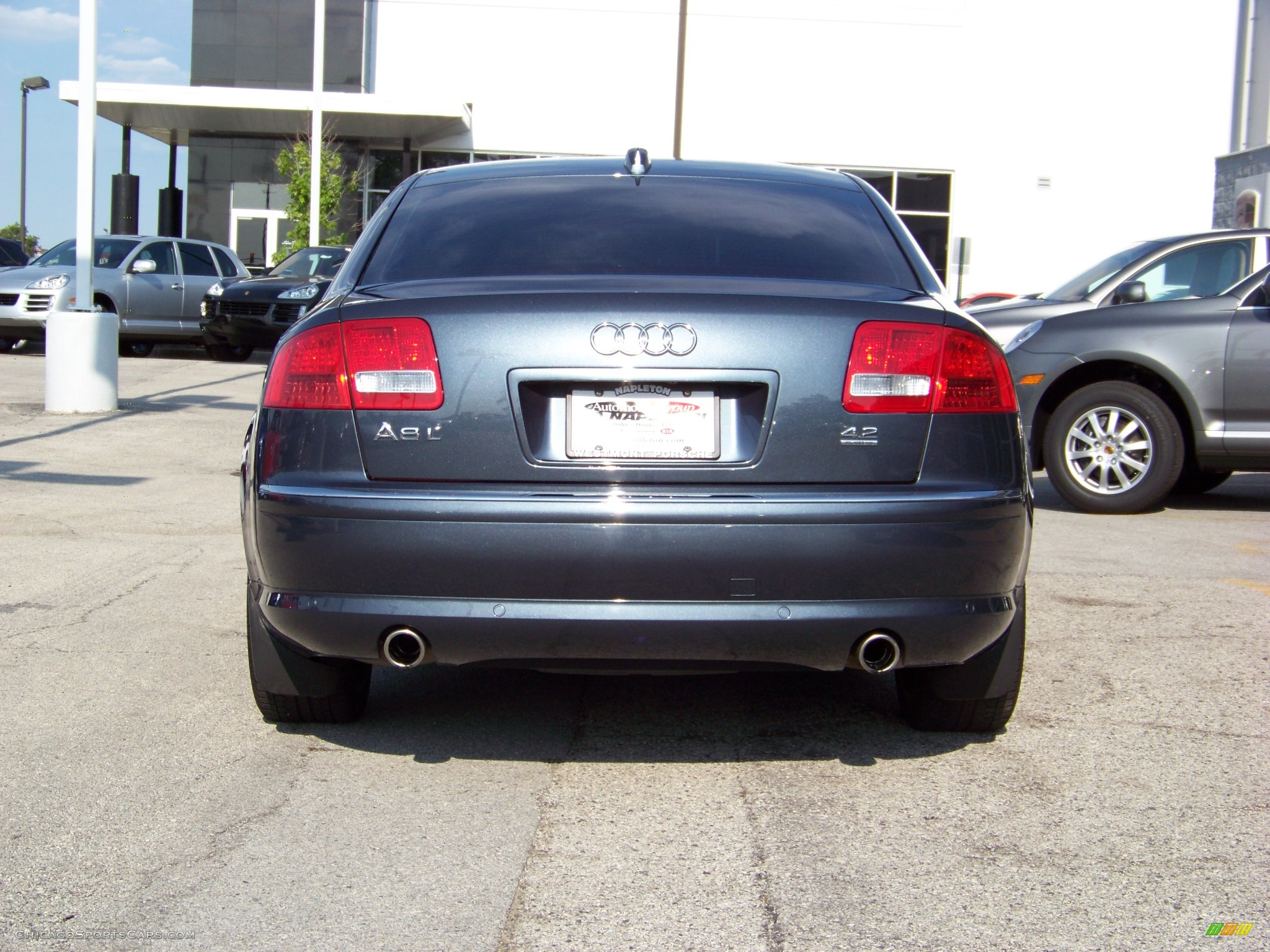 2004 audi a8 l 4 2 quattro in northern blue pearl effect photo 6 018794 chicagosportscars. Black Bedroom Furniture Sets. Home Design Ideas