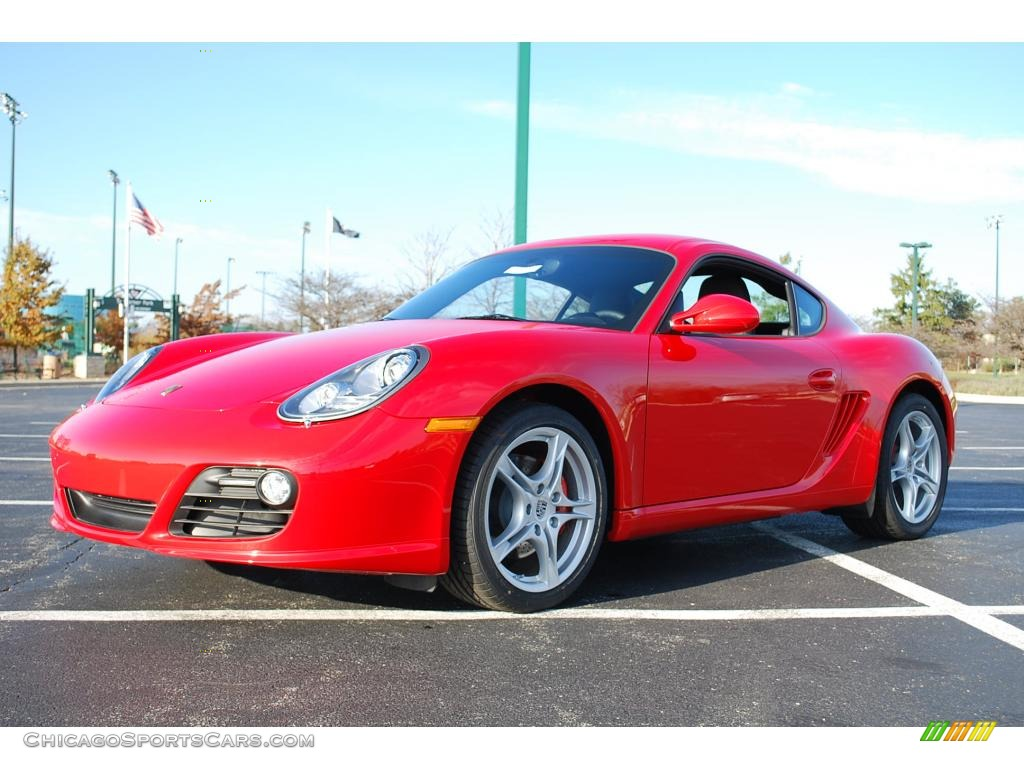 2010 Porsche Cayman S In Guards Red 780180