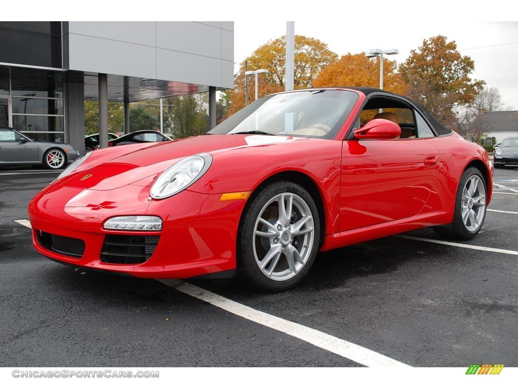 2010 porsche 911 carrera cabriolet in guards red 740095 cars for. Black Bedroom Furniture Sets. Home Design Ideas