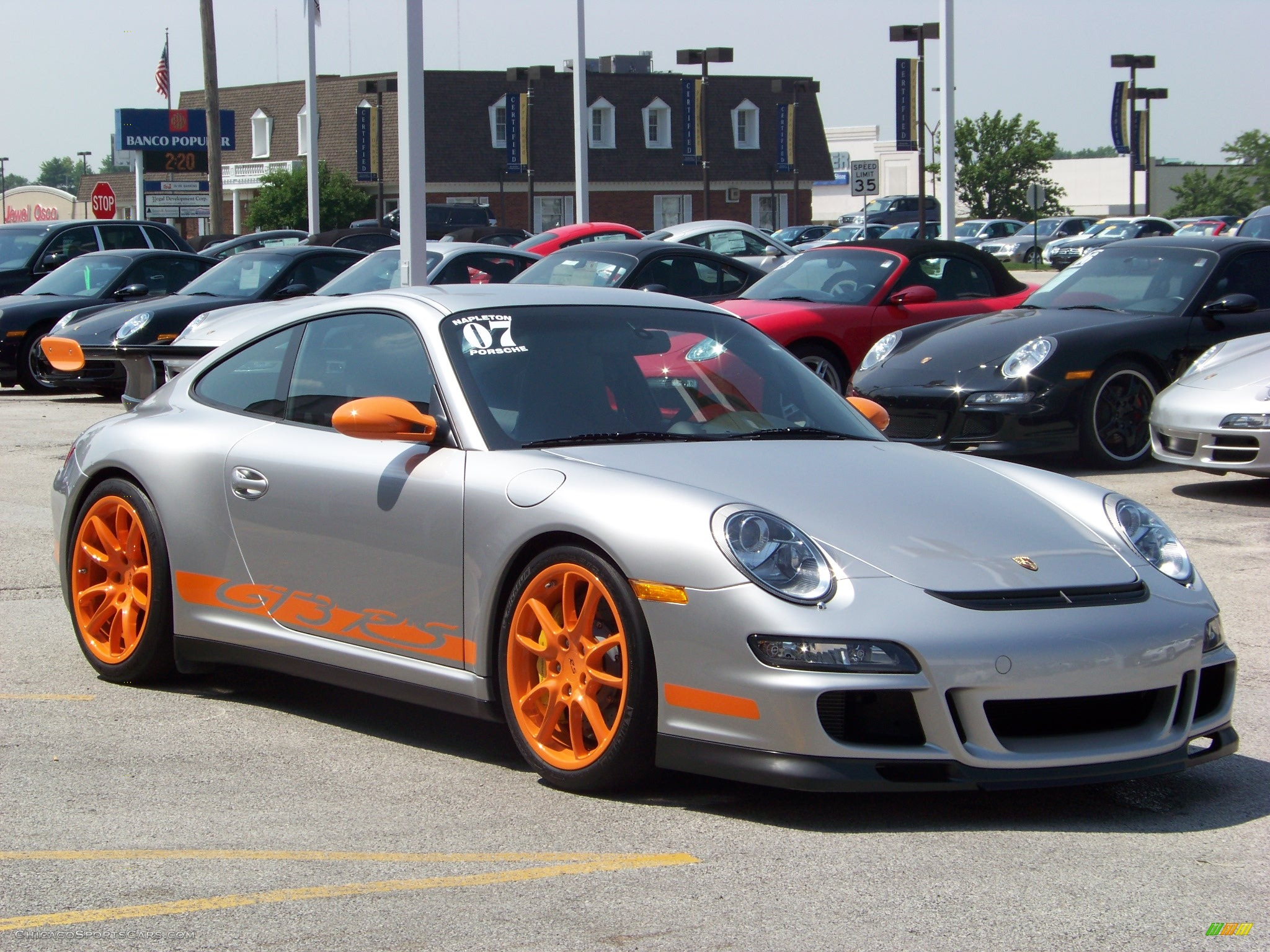 2007 Porsche 911 GT3 RS in Arctic Silver Metallic photo #3 ...