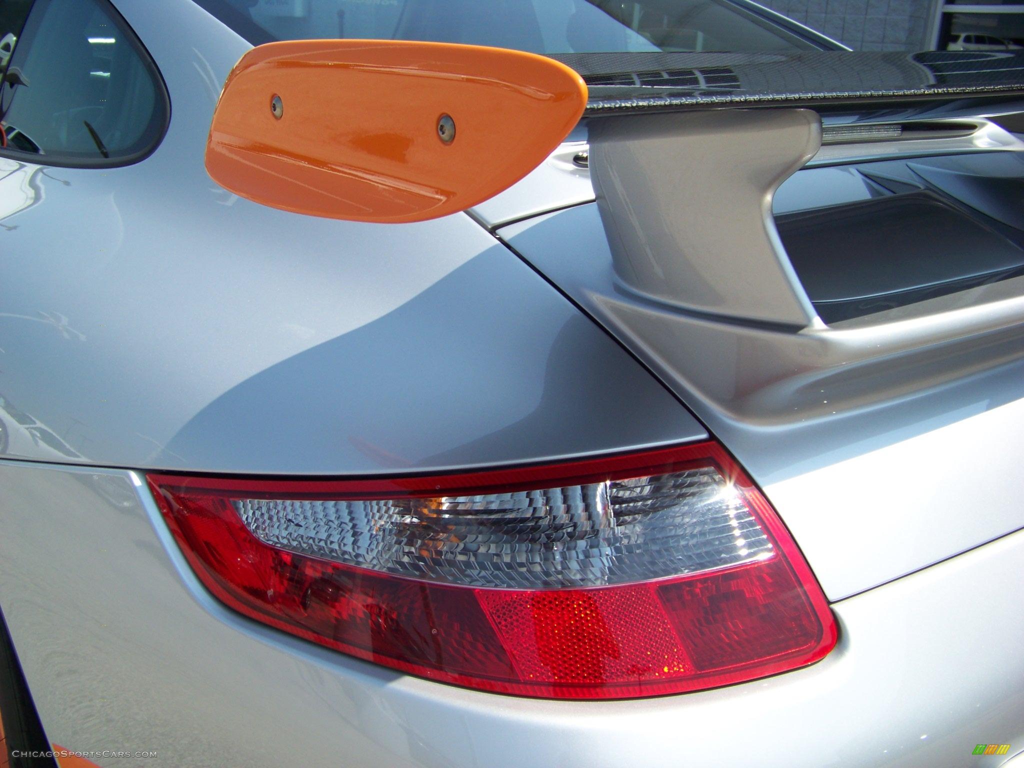 2007 Porsche 911 Gt3 Rs In Arctic Silver Metallic Photo
