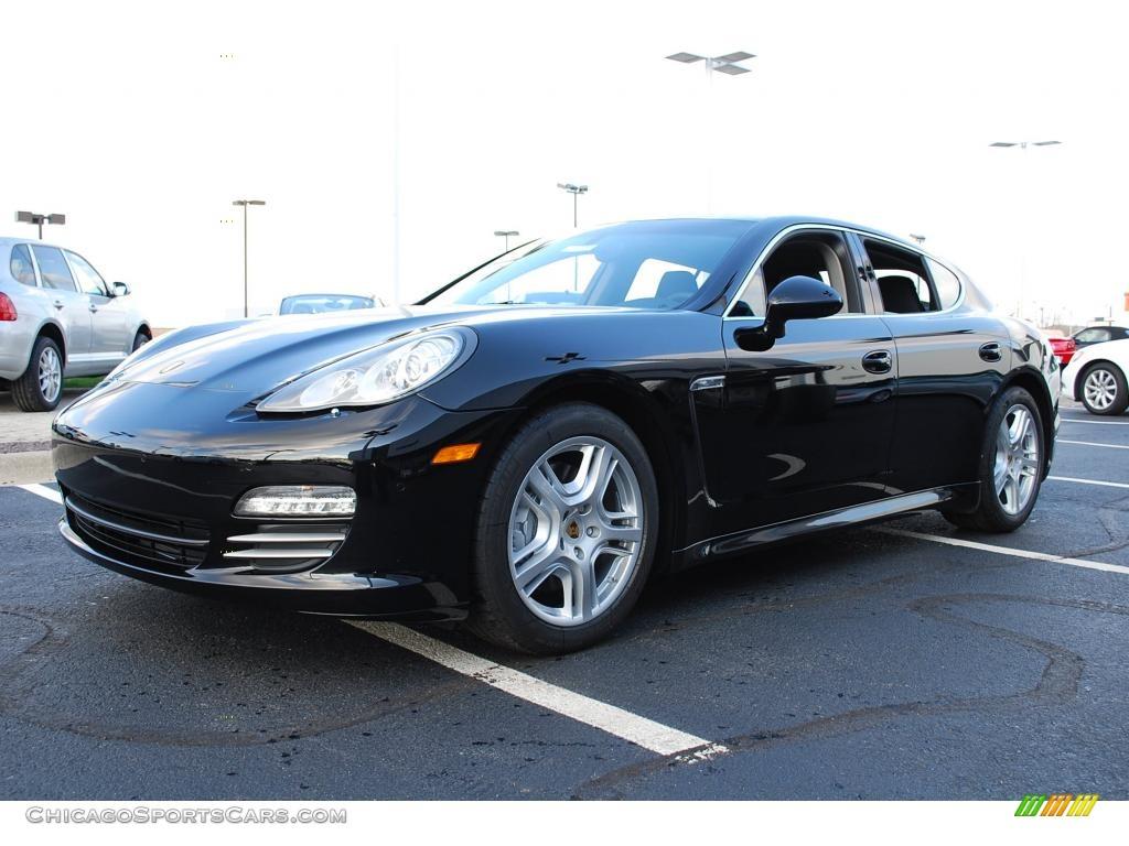 2010 Porsche Panamera 4s In Black Photo 12 061065