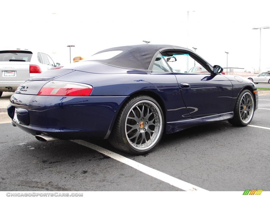 2002 Porsche 911 Carrera Cabriolet In Lapis Blue Metallic