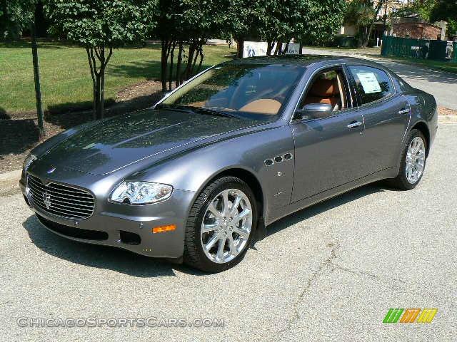 2008 maserati quattroporte in grigio alfieri dark silver 038514. Black Bedroom Furniture Sets. Home Design Ideas