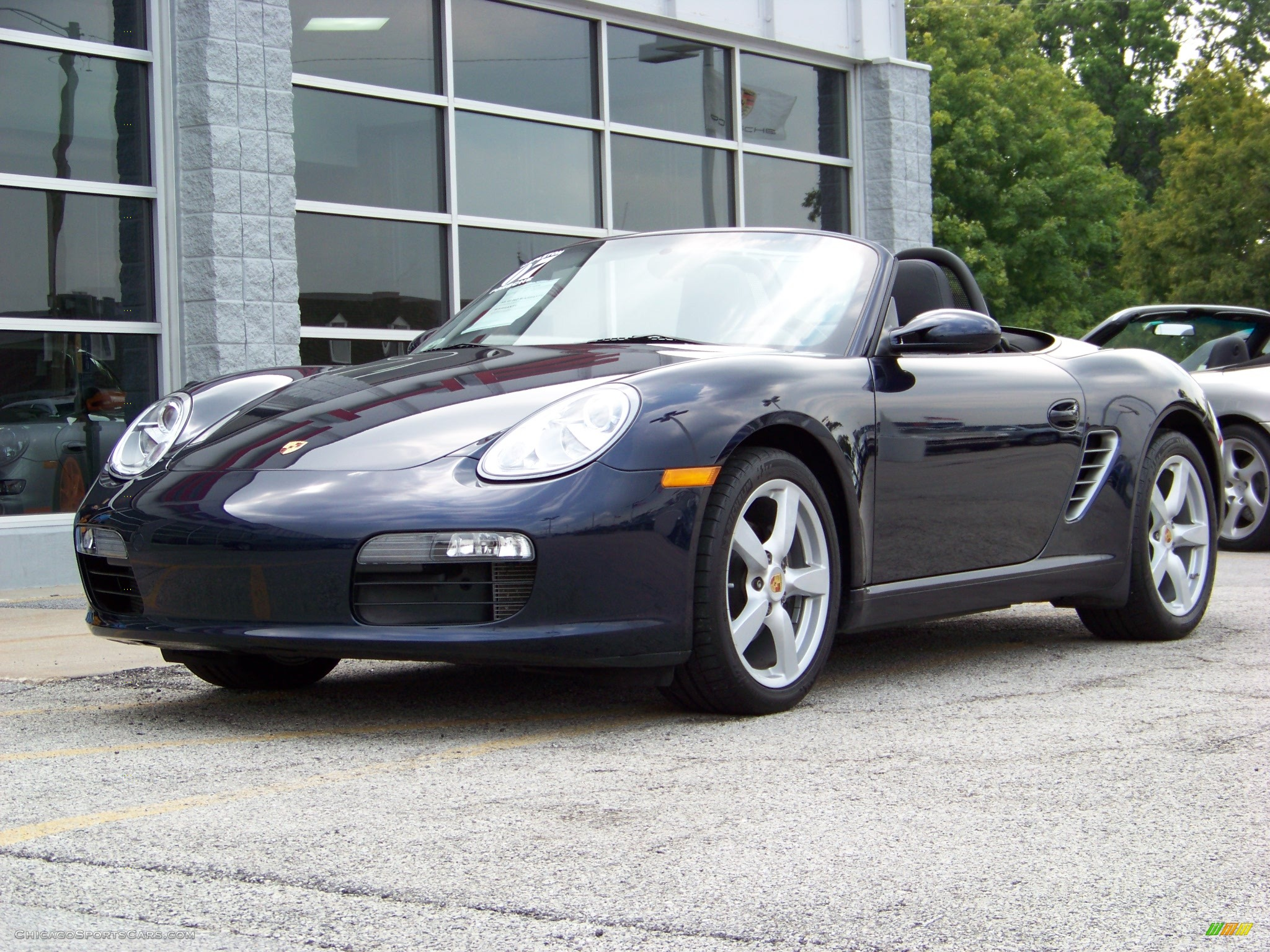 2007 porsche boxster in midnight blue metallic 712127 cars for sale. Black Bedroom Furniture Sets. Home Design Ideas