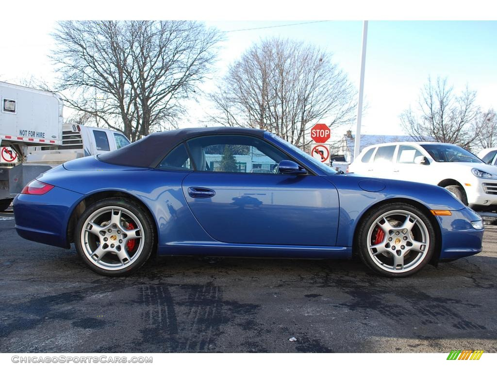 2006 Porsche 911 Carrera Cabriolet in Cobalt Blue Metallic ...