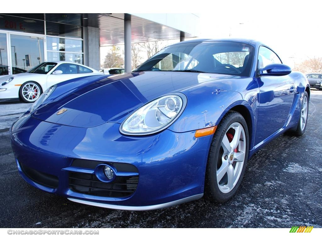 2006 Porsche Cayman S In Cobalt Blue Metallic 783106