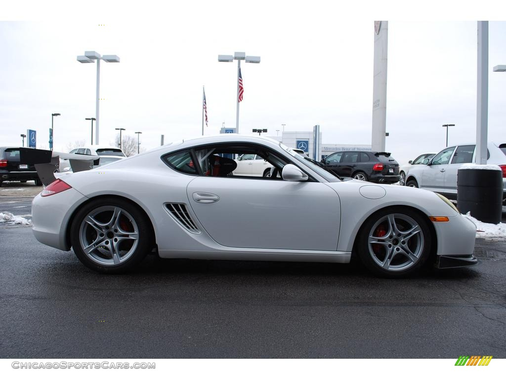 2009 porsche cayman s interseries in carrara white photo 6 780968. Black Bedroom Furniture Sets. Home Design Ideas