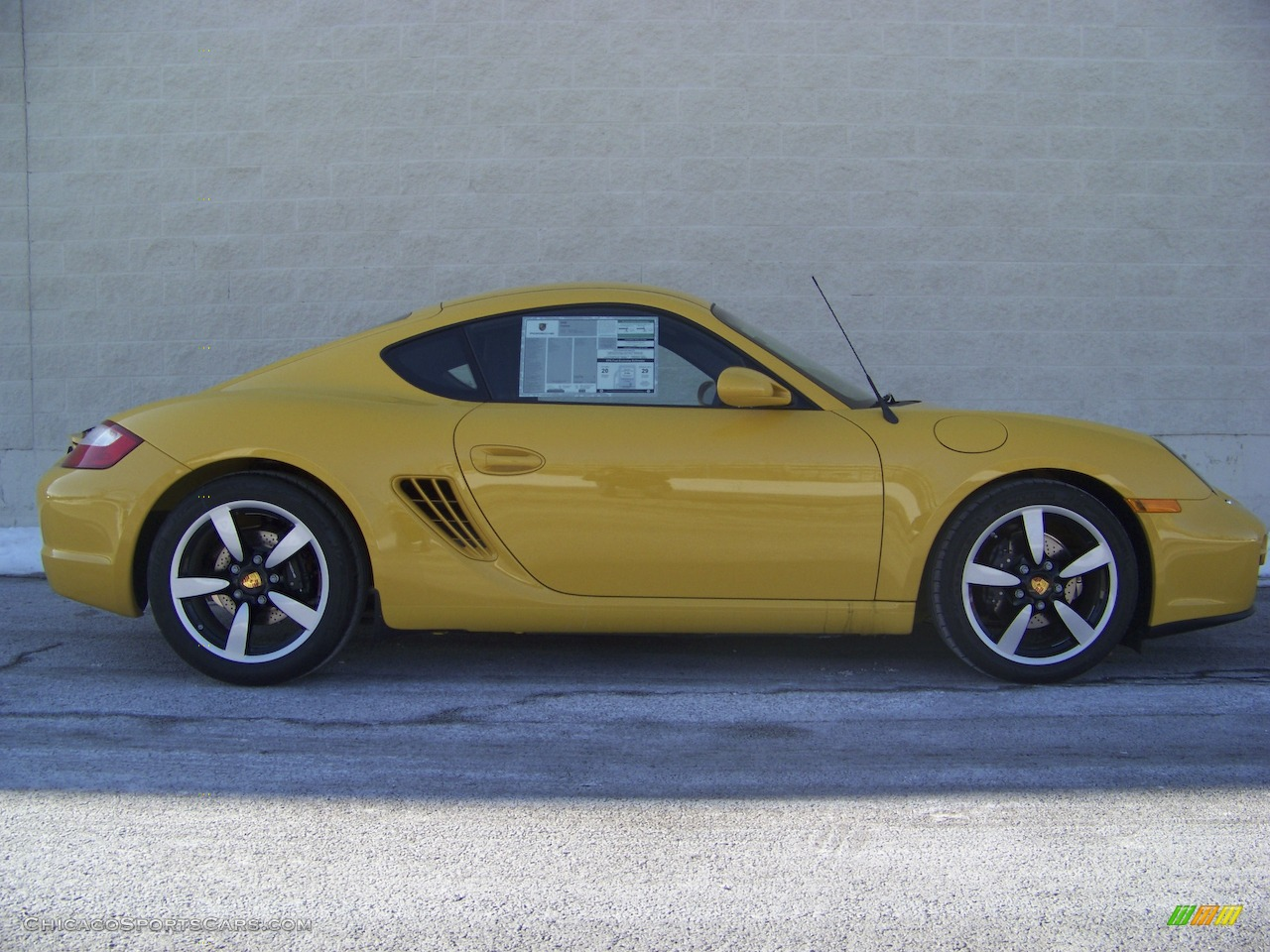 2008 Porsche Cayman In Speed Yellow 762694