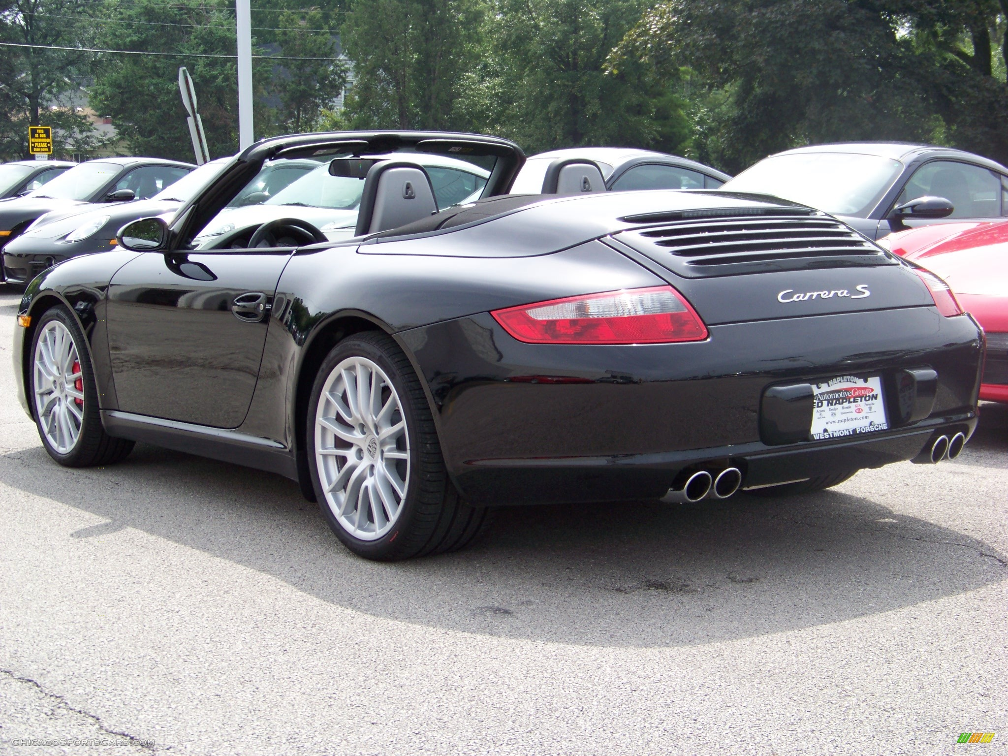 2008 porsche 911 carrera s cabriolet in black photo 28 775338 cars. Black Bedroom Furniture Sets. Home Design Ideas