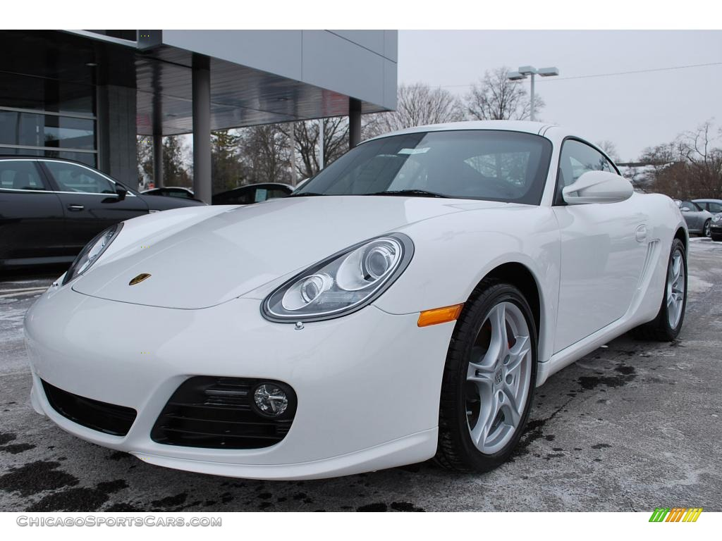 2010 porsche cayman s in carrara white 780098. Black Bedroom Furniture Sets. Home Design Ideas