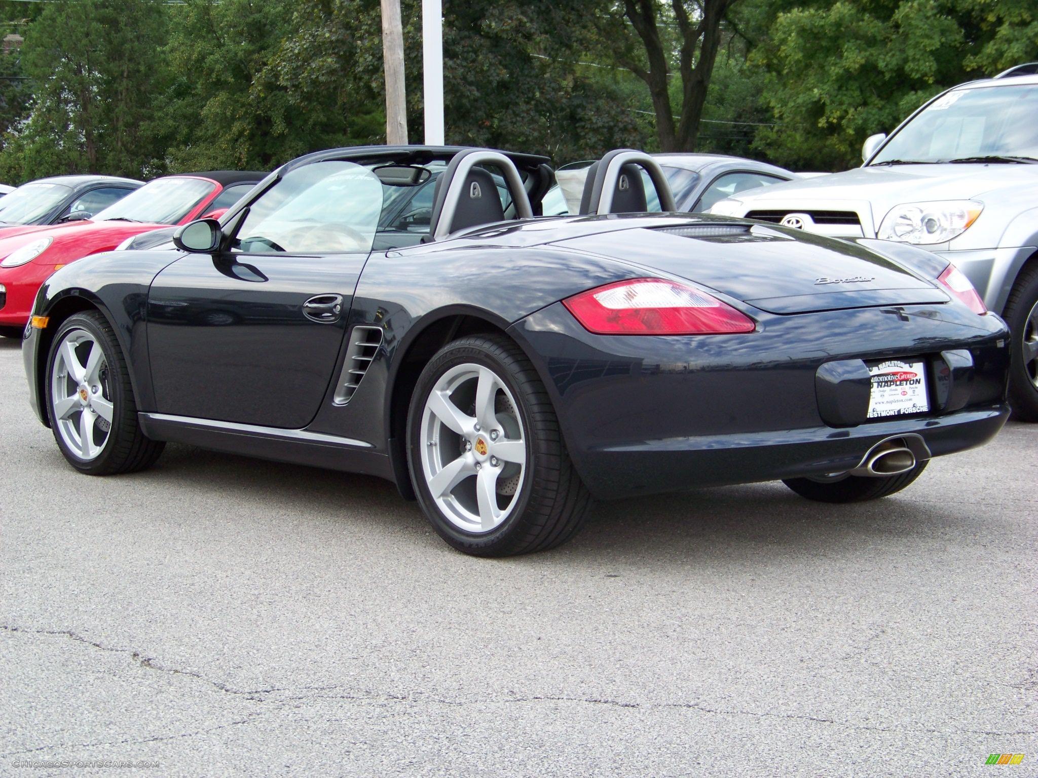 2008 Porsche Boxster in Atlas Grey Metallic photo #3 ...