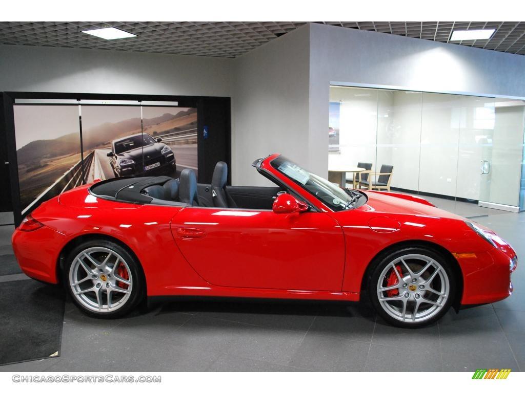 2010 porsche 911 carrera 4s cabriolet in guards red photo 4 754223. Black Bedroom Furniture Sets. Home Design Ideas