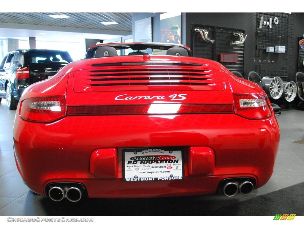 2010 porsche 911 carrera 4s cabriolet in guards red photo 6 754223. Black Bedroom Furniture Sets. Home Design Ideas