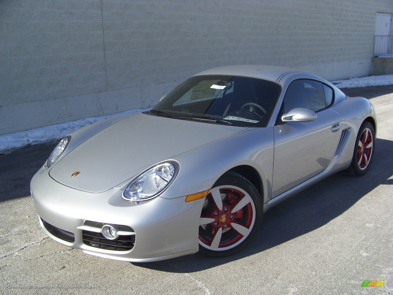 2009 porsche cayman s in arctic silver metallic photo 3 uxxxxx cars. Black Bedroom Furniture Sets. Home Design Ideas