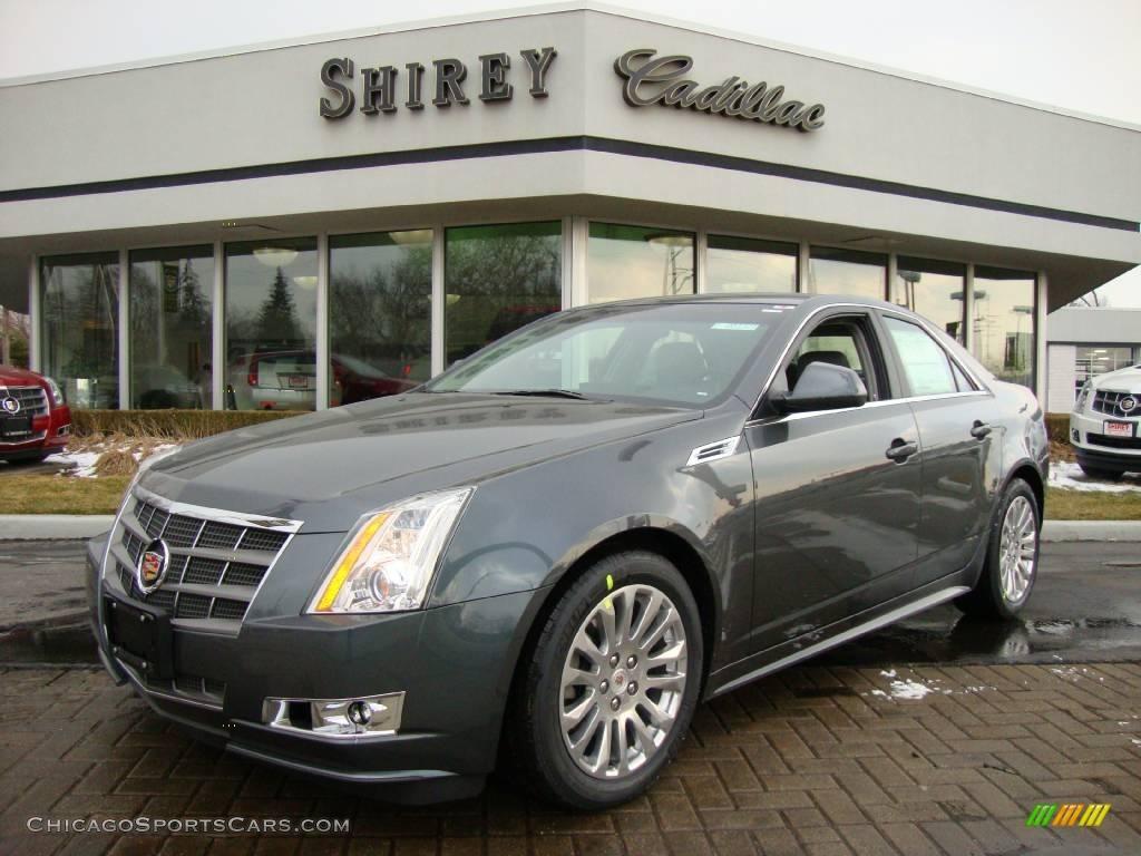 2010 Cadillac Cts 4 3 0 Awd Sedan In Thunder Gray