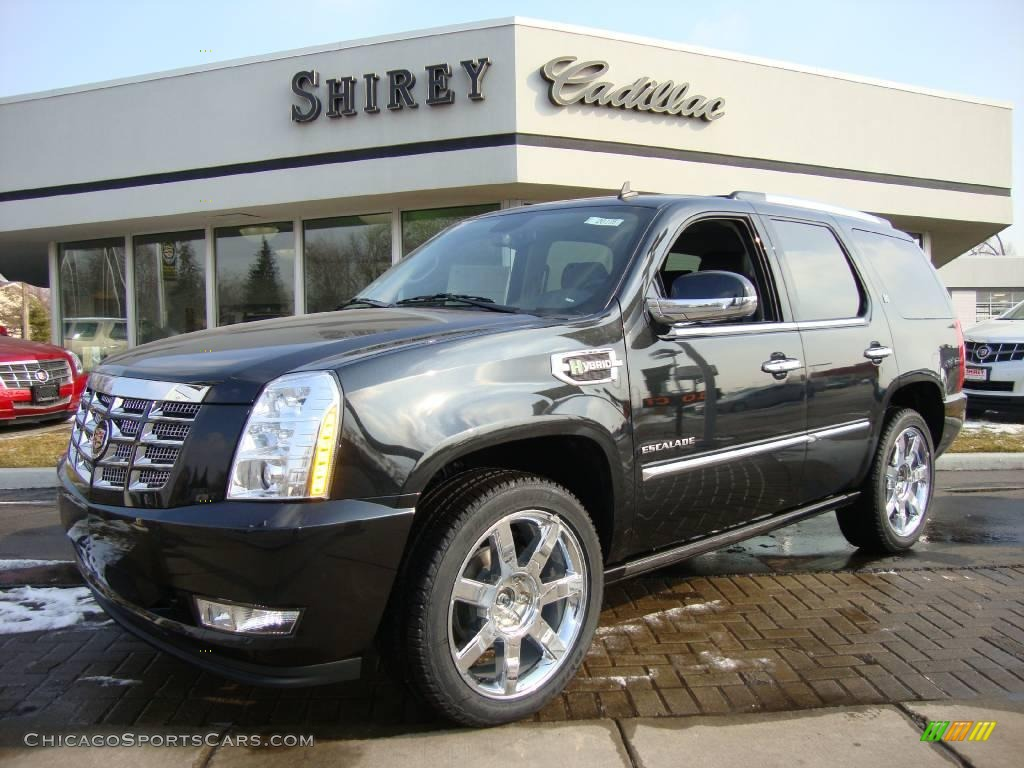 2010 escalade hybrid awd black ice ebony photo 1. Cars Review. Best American Auto & Cars Review
