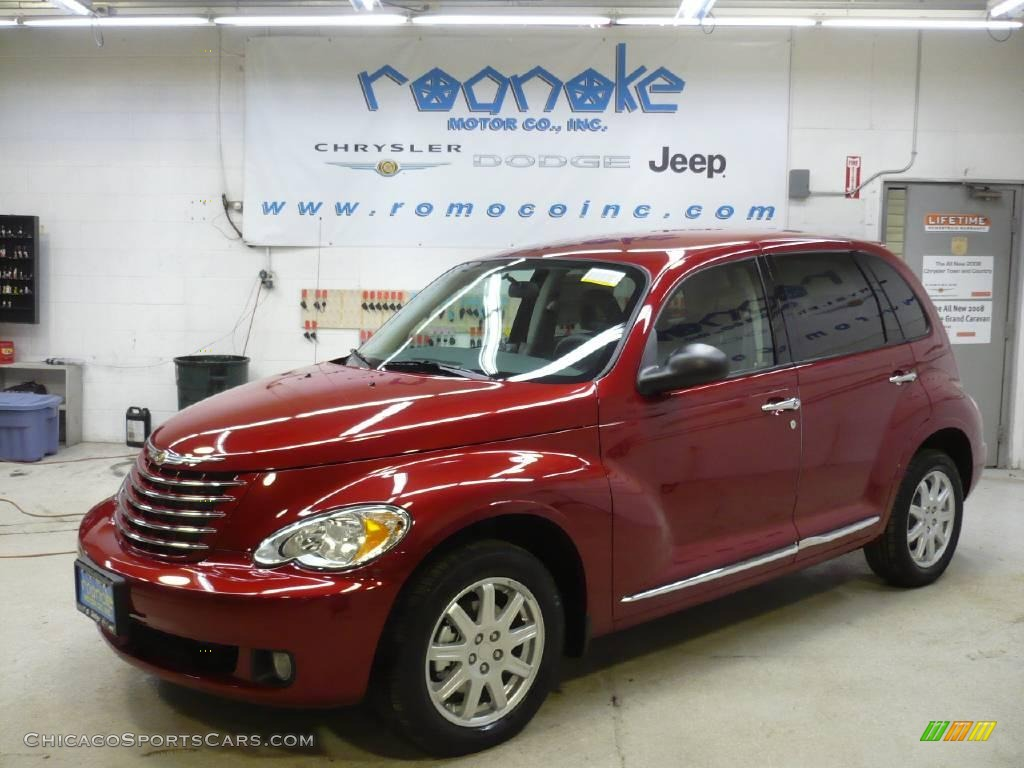 2010 chrysler pt cruiser classic in inferno red crystal pearl 164676. Black Bedroom Furniture Sets. Home Design Ideas