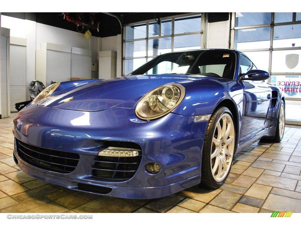 2008 Porsche 911 Turbo Coupe in Cobalt Blue Metallic photo ...