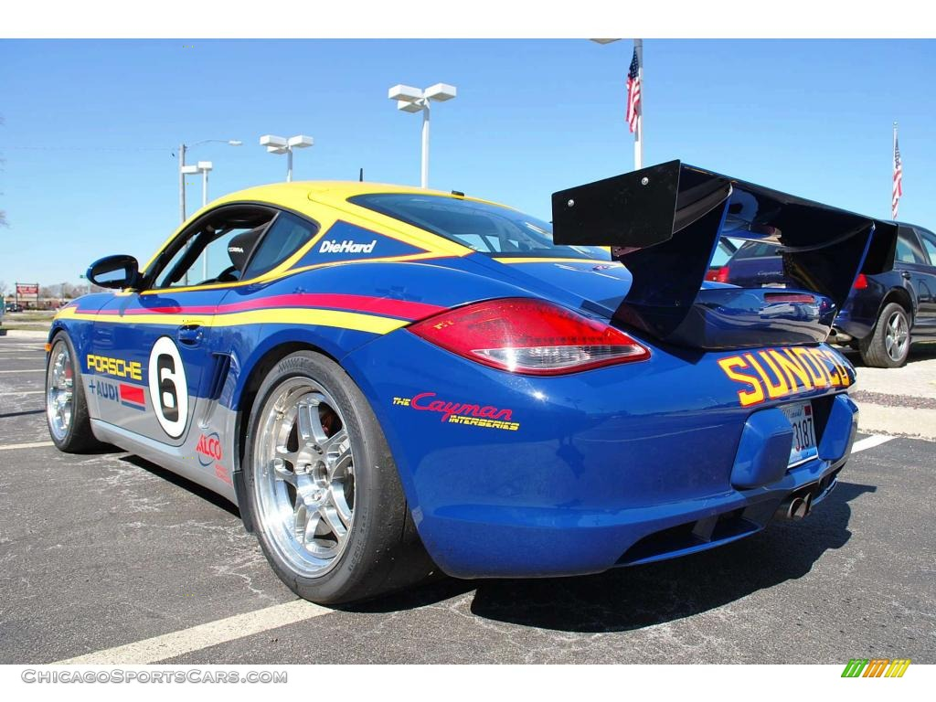 2009 porsche cayman s interseries in blue yellow red grey photo 7 780922 chicagosportscars. Black Bedroom Furniture Sets. Home Design Ideas