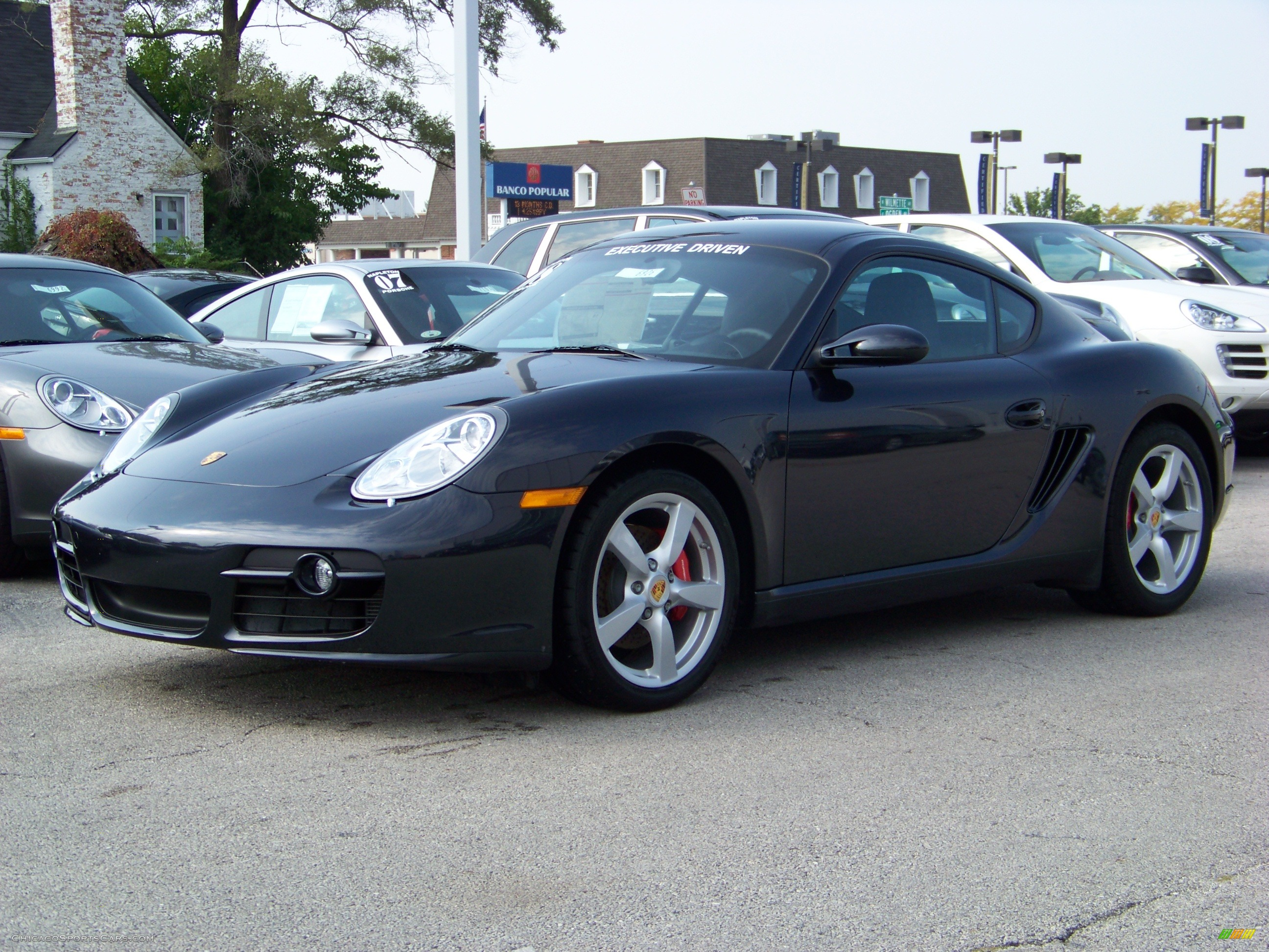 2008 Porsche Cayman S In Atlas Grey Metallic 780923